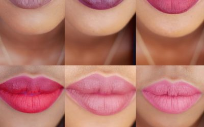 Color Pop Liquid Lipstick Swatches on Brown Skin