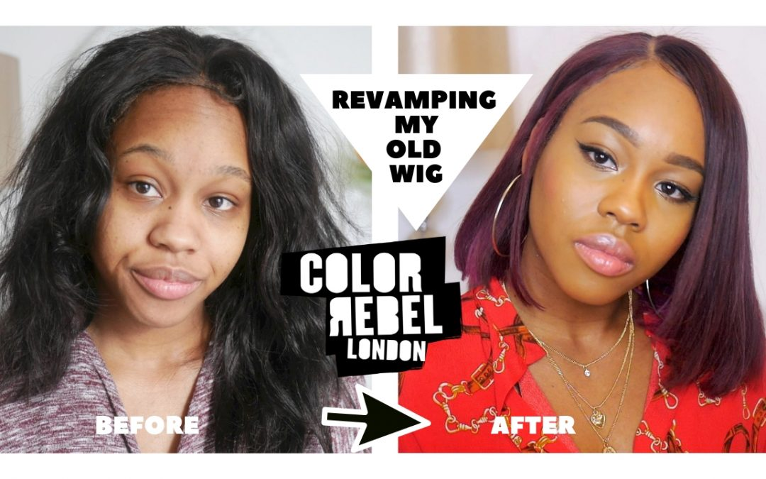 Revamping My old Wig