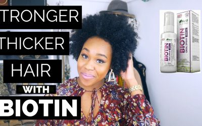 Thicker & Stronger Hair With Biotin