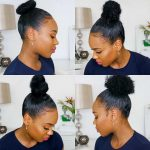 5 Ways To Rock Your High Bun On Natural Hair