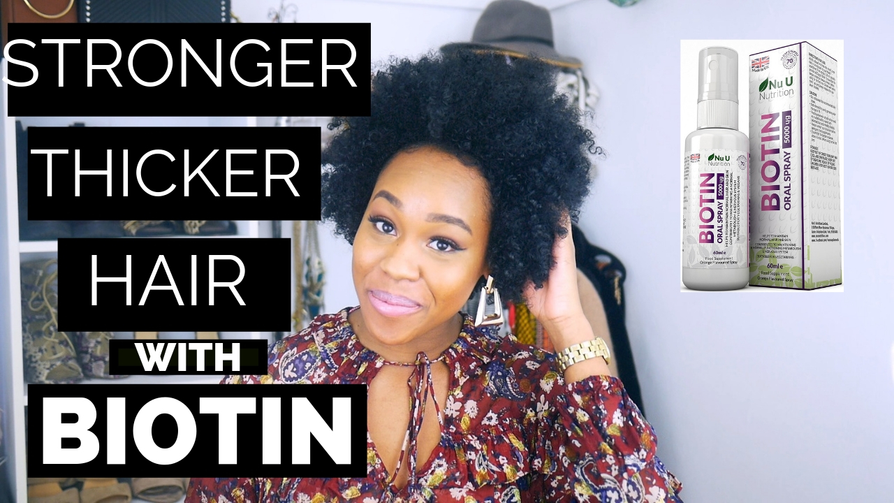 Taking Biotin for Natural Hair Growth