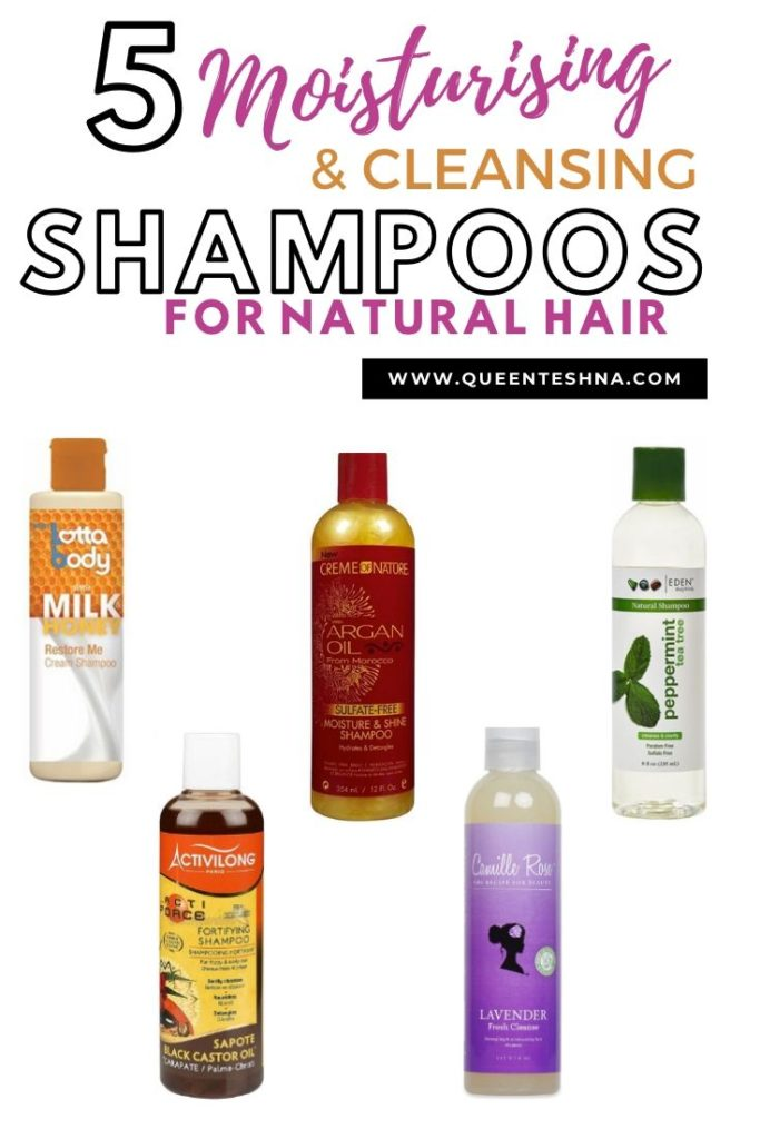 moisturising shampoos that's great for cleansing natural curly hair