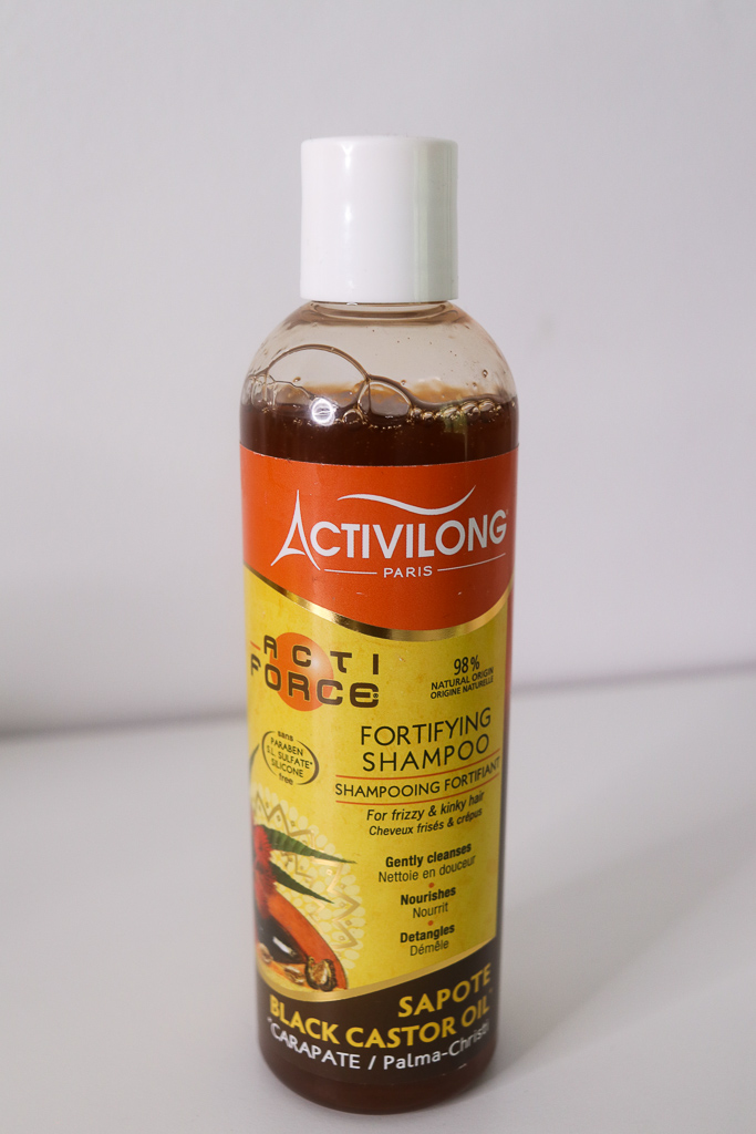 Super moisturising shampoo for brittle and dry natural hair