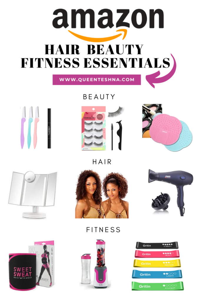 beauty fitnesS and hair Amazon essentials every girl needs!