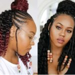 How I braid & install Aftress Ombre Crochet twist