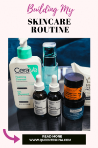what products to buy to build skincare routine